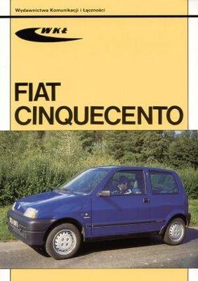 Okładka książki Fiat Cinquecento
