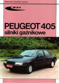 Okładka książki Peugeot 405. Silniki gaźnikowe