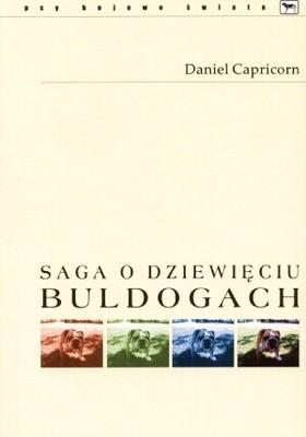 Okładka książki Saga o dziewięciu buldogach