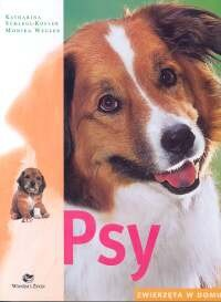 Okładka książki Psy Zwierzęta w domu