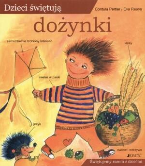 Okładka książki Dzieci świętują dożynki