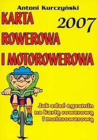 Okładka książki Karta rowerowa i motorowerowa 2007