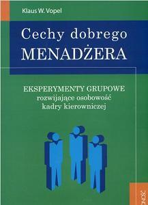 Okładka książki Cechy dobrego menadżera