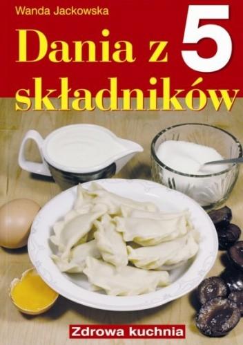 Okładka książki Dania z 5 składników
