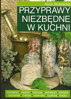 Okładka książki Przyprawy niezbędne w kuchni