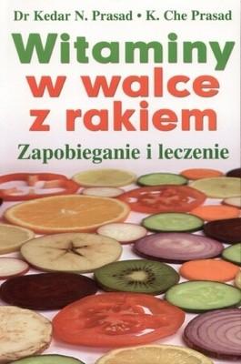 Okładka książki Witaminy w walce z rakiem