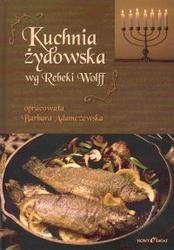 Okładka książki Kuchnia żydowska wg Rebeki Wolff