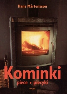 Okładka książki Kominki, piece, piecyki