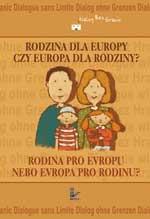 Okładka książki Rodzina dla Europy czy Europa dla rodzinya