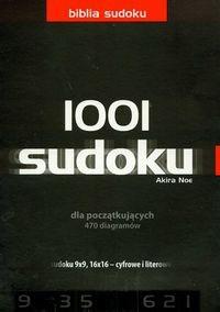 Okładka książki Sudoku 1001 dla początkujących