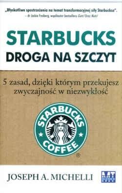 Okładka książki Starbucks Droga na szczyt