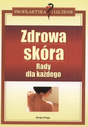 Okładka książki zdrowa skóra. Rady dla każdego