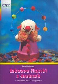 Okładka książki zabawne figurki z doniczek