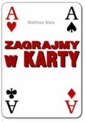 Okładka książki zagrajmy w karty