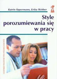 Okładka książki Style porozumiewania sie w pracy
