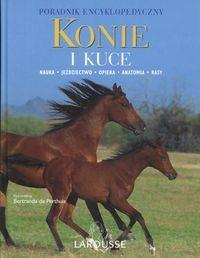 Okładka książki Konie i kuce. Poradnik encyklopedyczny