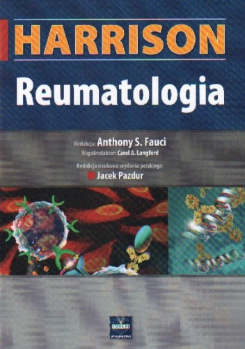 Okładka książki Harrison Reumatologia