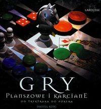 Okładka książki Gry planszowe i karciane od tryktraka do pokera
