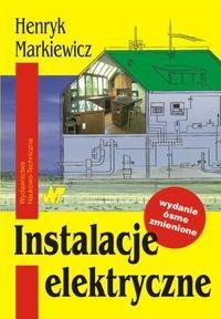 Okładka książki Instalacje elektryczne