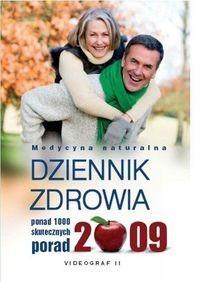 Okładka książki Dziennik zdrowia 2009