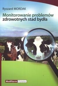 Okładka książki Monitorowanie problemów zdrowotnych stad bydła