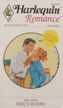 Okładka książki Święta w domu