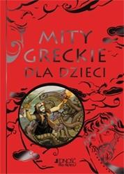 Okładka książki Mity greckie dla dzieci