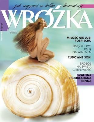 Okładka książki Wróżka - wrzesień 2012