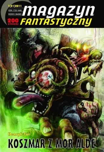 Okładka książki Magazyn Fantastyczny (nr 21; 2011r.)