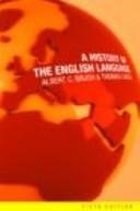 Okładka książki A History of the English Language