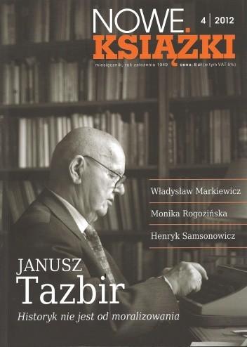 Okładka książki Nowe Książki, nr 4 (1118) / 2012