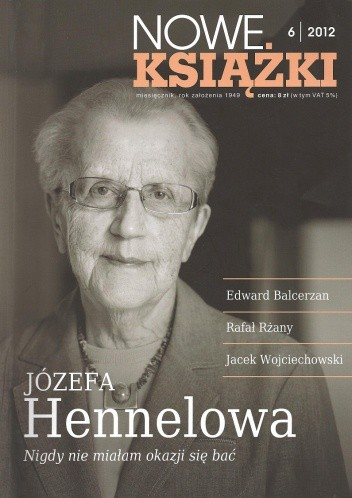 Okładka książki Nowe Książki, nr 6 (1120) / 2012