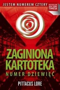 Okładka książki Zaginiona kartoteka. Numer Dziewięć