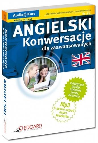 Okładka książki Angielski. Konwersacje dla zaawansowanych
