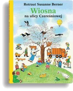 Okładka książki Wiosna na ulicy Czereśniowej