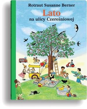 Okładka książki Lato na ulicy Czereśniowej