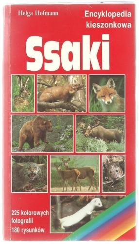 Okładka książki Ssaki. Encyklopedia kieszonkowa