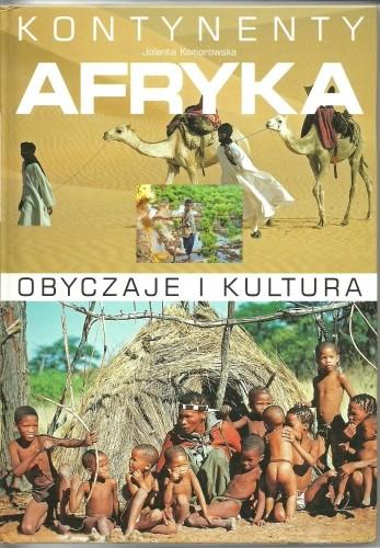 Okładka książki Afryka. Obyczaje i kultura