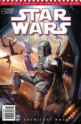 Okładka książki Star Wars Komiks 6/2012