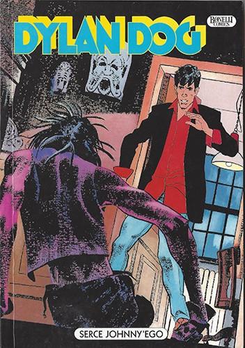 Okładka książki Dylan Dog: Serce Johnny'ego