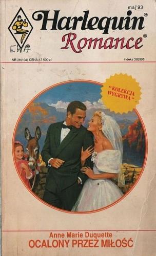 Okładka książki Ocalony przez miłość