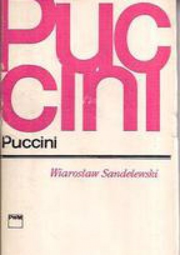 Okładka książki Puccini