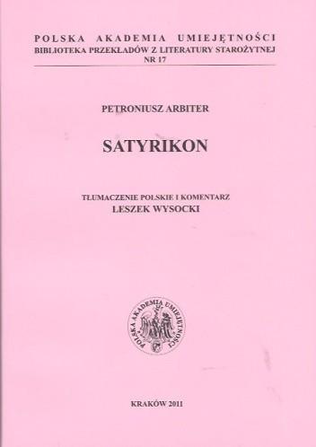 Okładka książki Satyrikon