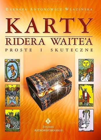 Okładka książki Karty Ridera Waita - proste i skuteczne