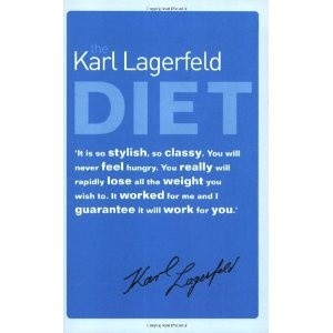 Okładka książki Karl Lagerfeld Diet