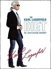 Okładka książki The Karl Lagerfeld Diet