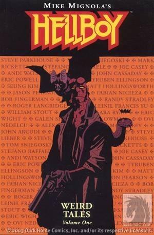 Okładka książki Hellboy: Opowieści niesamowite