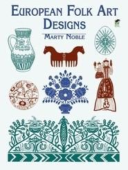 Okładka książki European Folk Art Designs