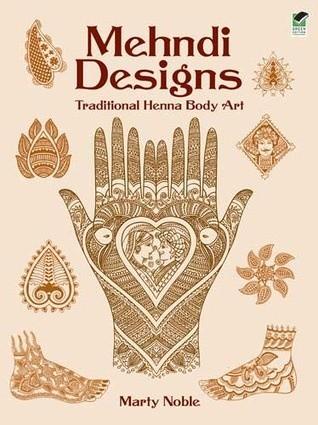 Okładka książki Mehndi Designs Traditional Henna Body Art