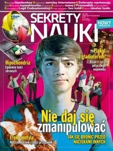 Okładka książki Sekrety Nauki (6/2012)
